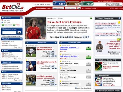 Site BetClic